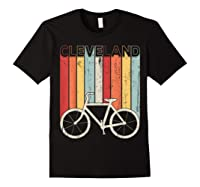 Retro Vintage Cleveland City Cycling Shirt For Cycling Lover Black
