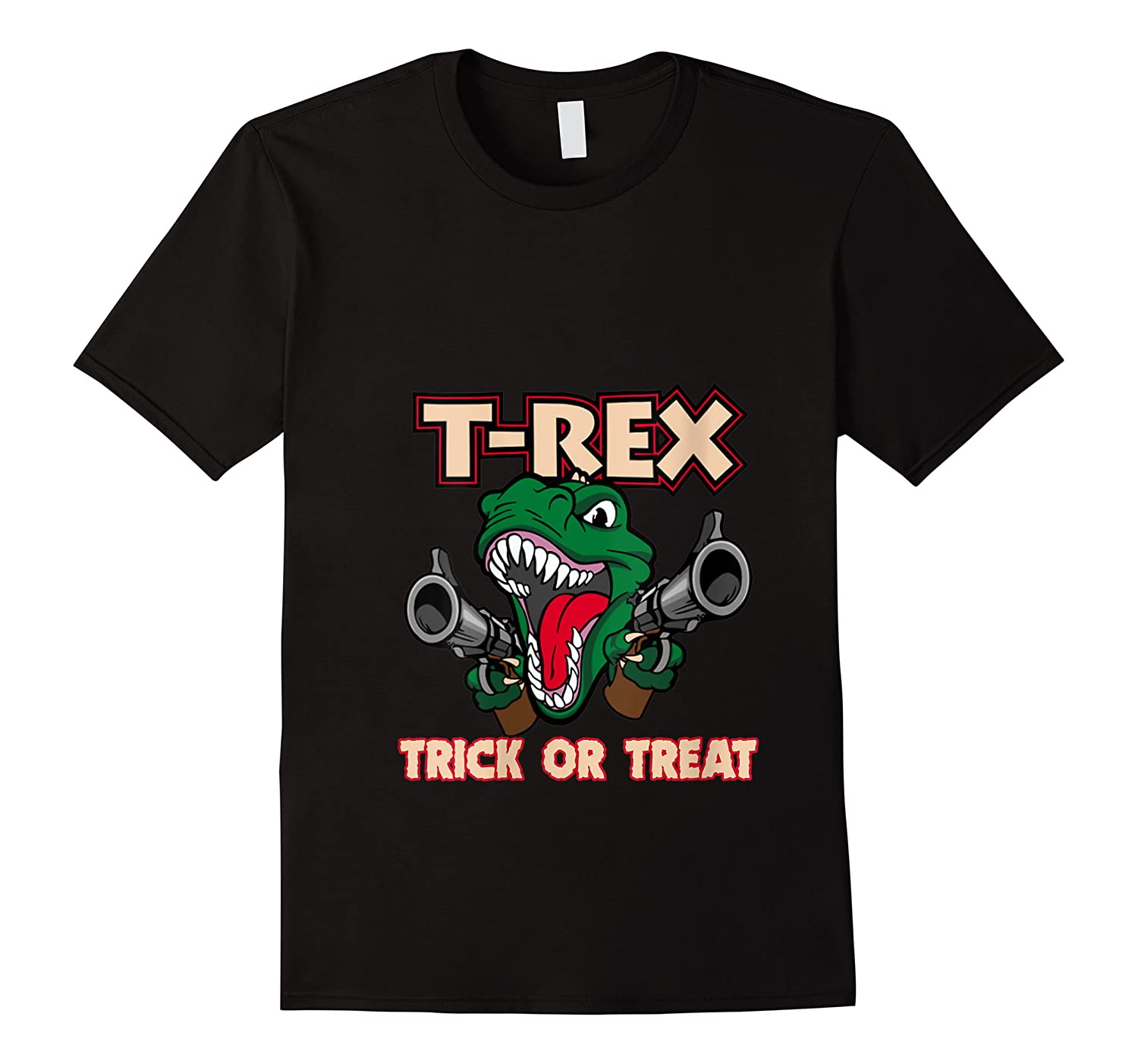 T Rex Arms Trick Or Treat Halloween Shirts