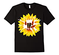 Share Love With Sunflower For And Shirts Black