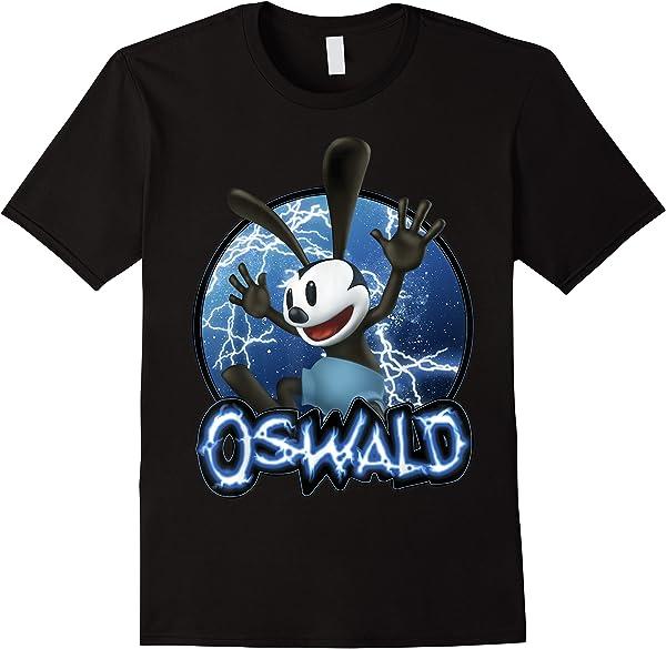 Disney Epic Mickey Oswald Lightning Portrait T-shirt