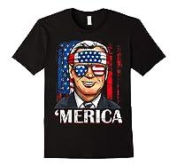 Joe Biden 2020 Merica 4th Of July Independence Day Usa T Shirt Black