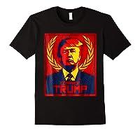 Comrade Trump Protest Resist Impeach Russia Propaganda Shirt Black