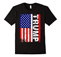 Donald Trump 2020 Vintage Usa Flag Shirts Black
