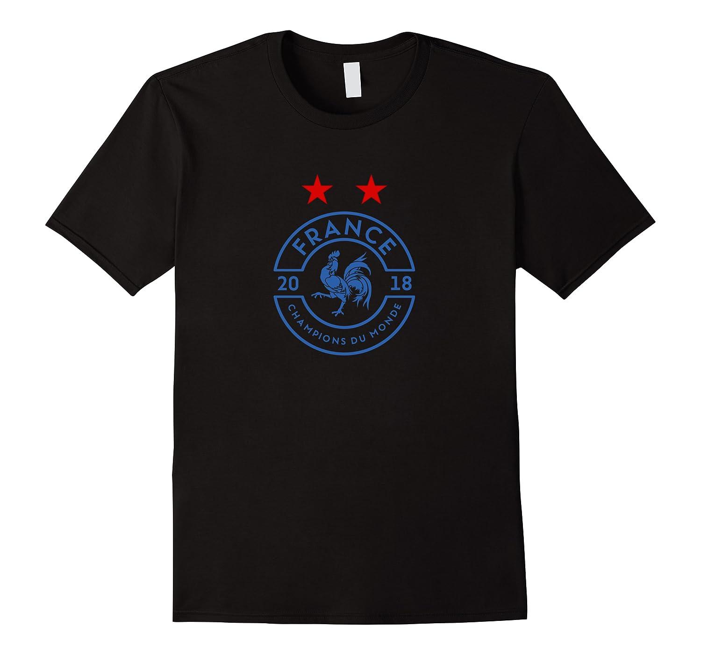 France World Champions Du Monde 2018 Shirts Men Short Sleeve
