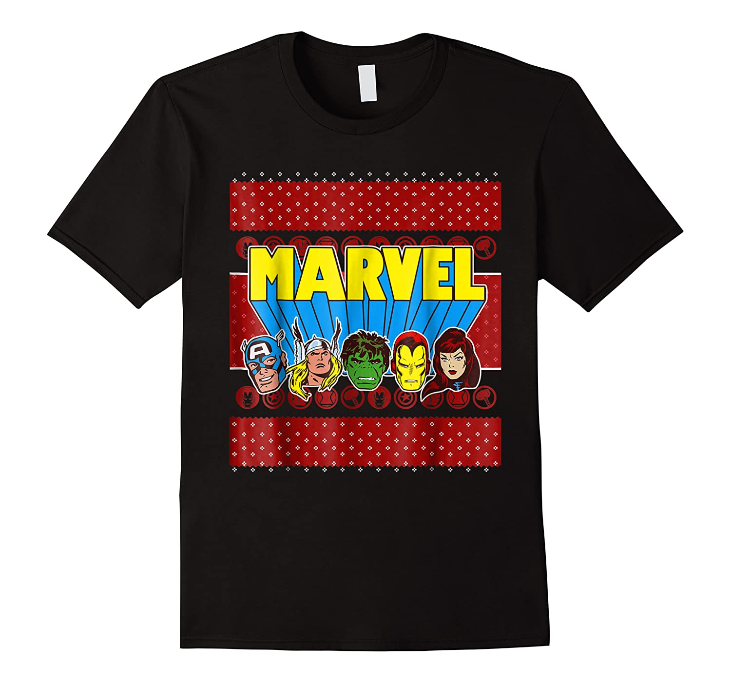 Avengers Classic Ugly Christmas Sweater Shirts
