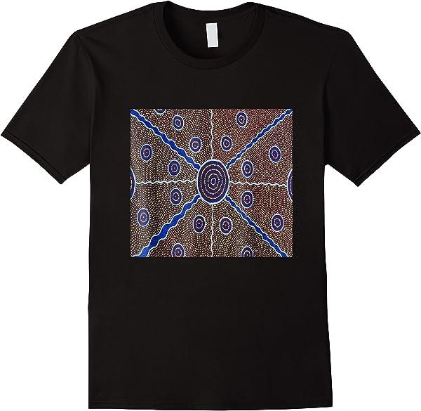 Australian Aboriginal Art T-shirt Australia Graphic Tee