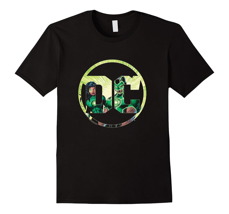 Green Lantern Dc Comics Logo Shirts Men Short Sleeve