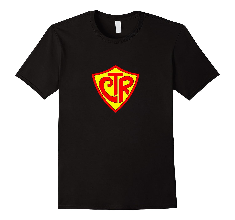 Super Ctr Logo Fun Latter Day Saint T Shirt Men Short Sleeve