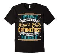 Optometry Optometrist Shirts Black