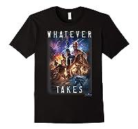 Marvel Avengers Endgame Movie Poster Whatever It Takes T-shirt Black