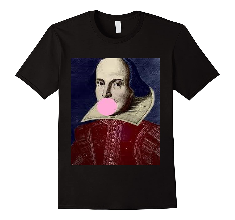 William Shakespeare Bubble Gum T Shirt Men Short Sleeve
