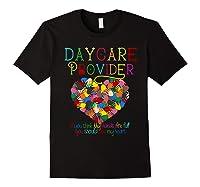 Daycare Provider Tshirt Appreciation Gift Childcare Tea Black