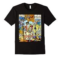 Wizard Of Oz Montage Shirts Black