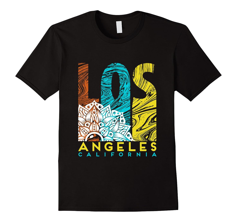 Los Angeles Shirt California City Los Angeles T Shirt Men Short Sleeve