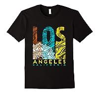Los Angeles Shirt California City Los Angeles T Shirt Black