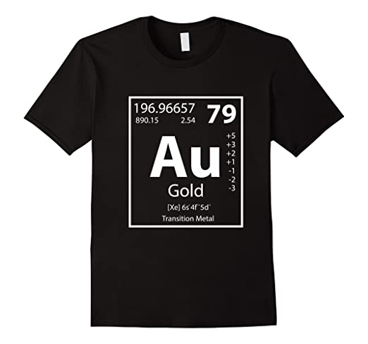 Amazon au gold periodic table of elements chemistry puns tee au gold periodic table of elements chemistry puns tee shirt urtaz Images