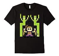 8 Bit Bayley Shirts Black