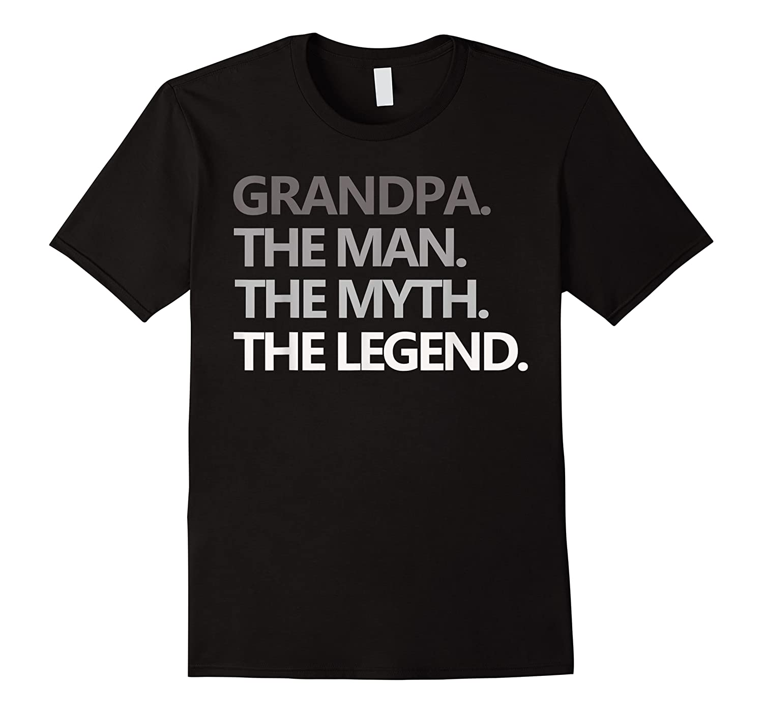 Grandpa The Man The Myth The Legend Father's Day Shirts