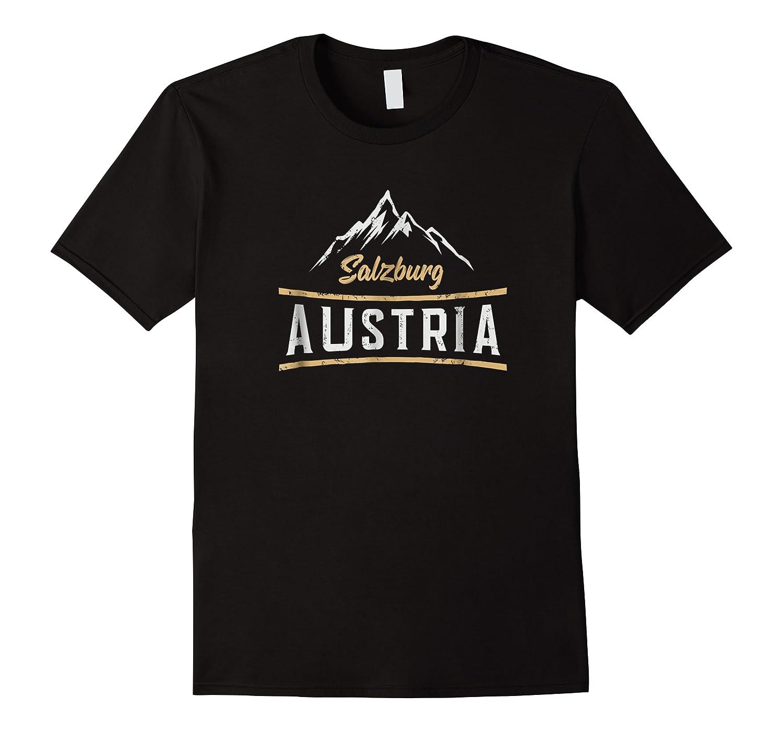 Austria Salzburg Skiing Vacation Shirts