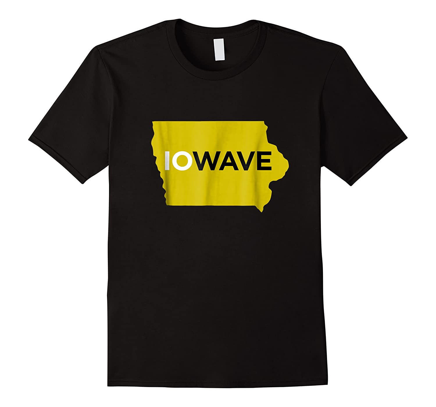 State Of Iowa Iowave Wave T For Fans And Residents Shirts