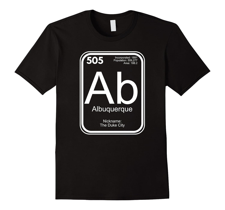 Albuquerque Tshirt Periodic Table New Mexico Gift