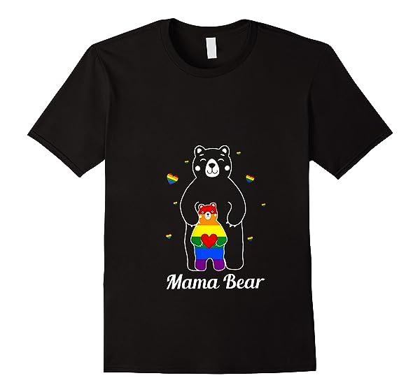 Papa Bear Mama Bear Love Lesbian Lesbian Lgbt Pride T Shirt