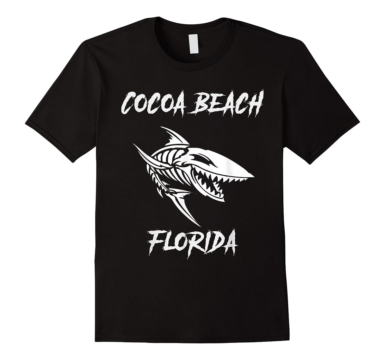Cocoa Beach Shark Skeleton T Shirt