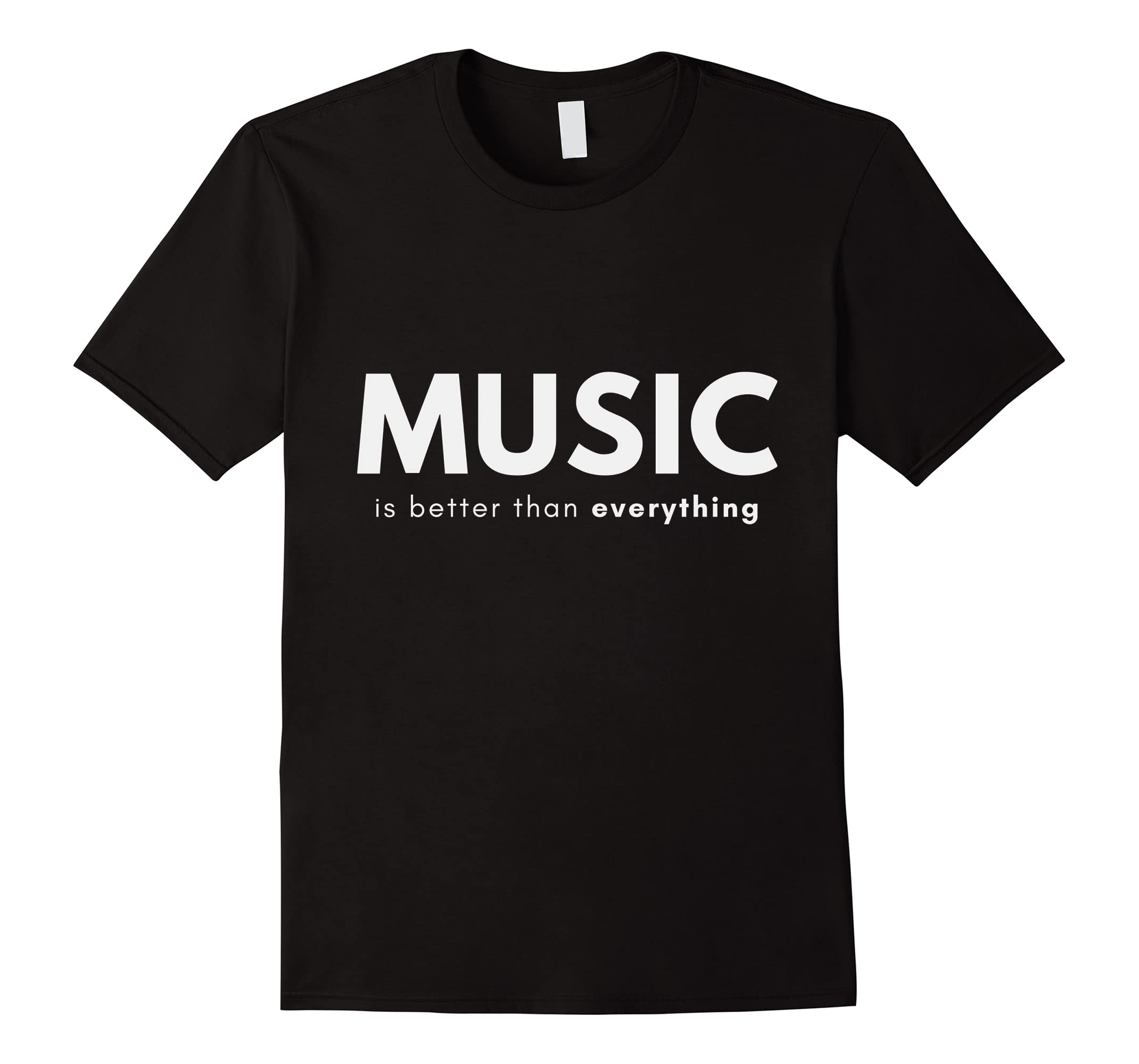 Music is Better Than Everything-Teesml