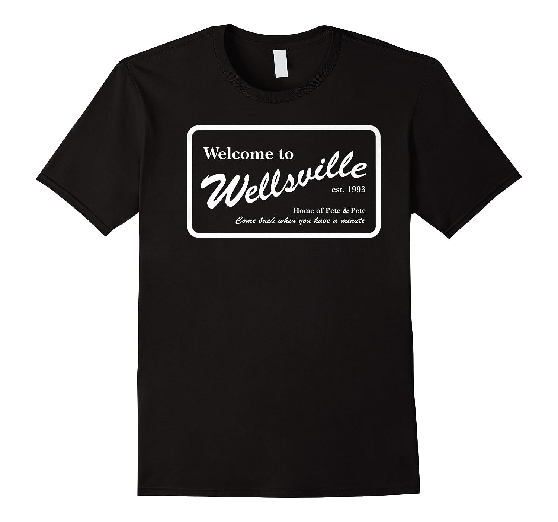 Nickelodeon Pete & Pete Wellsville Sign Premium T-shirt