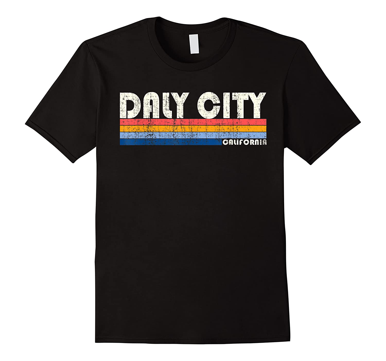 Vintage 70s 80s Style Daly City Ca T Shirt
