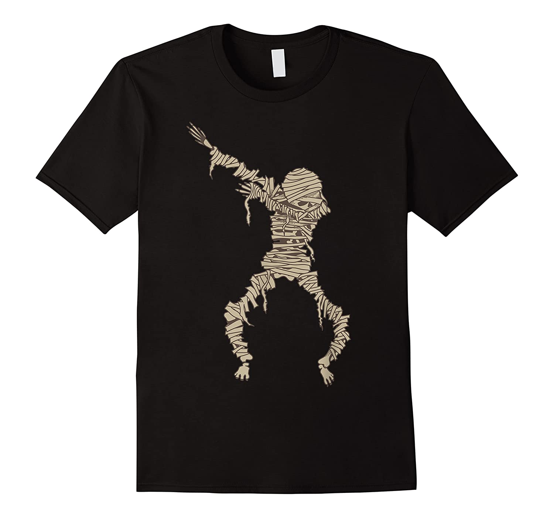 Dabbing Mummy Halloween Shirt Cute Preserved Human Dab Gift