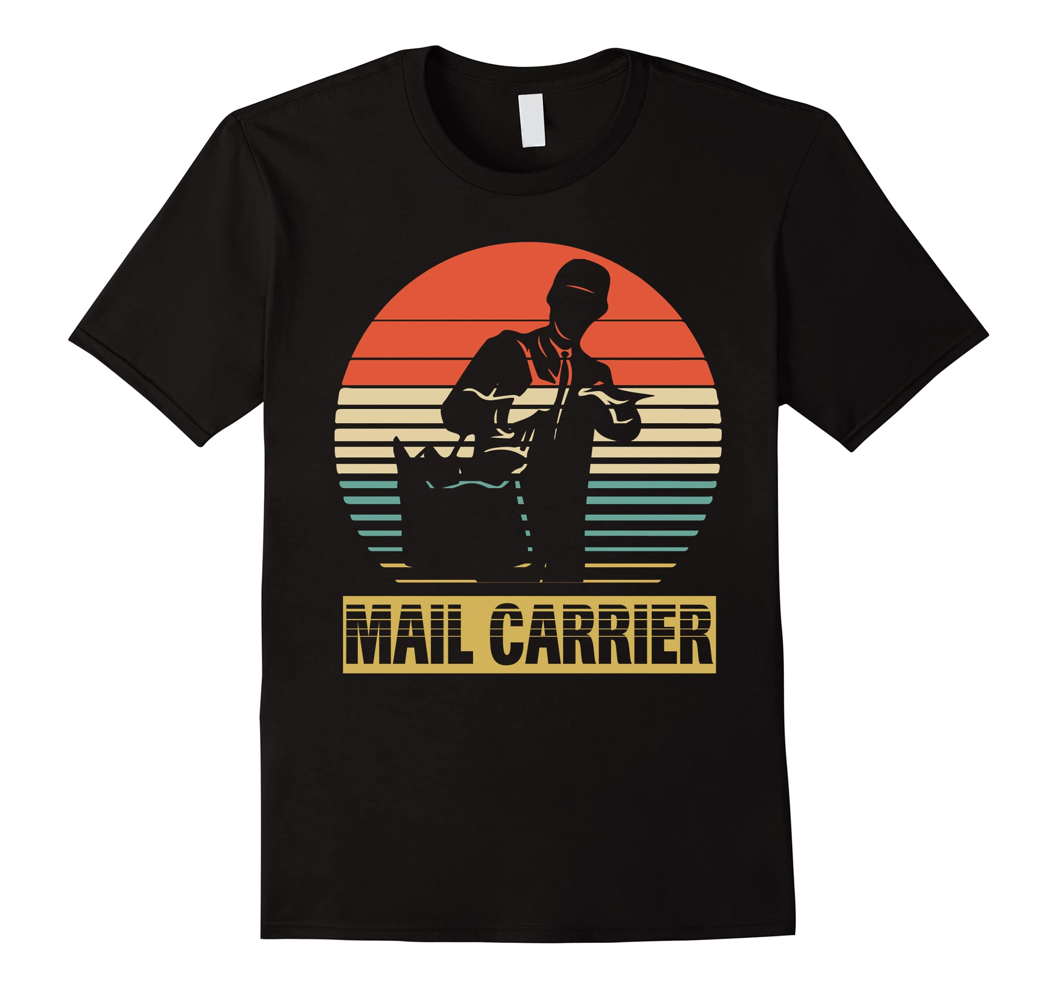 Vintage Shirt For Mail Carrier Birthday Gifts