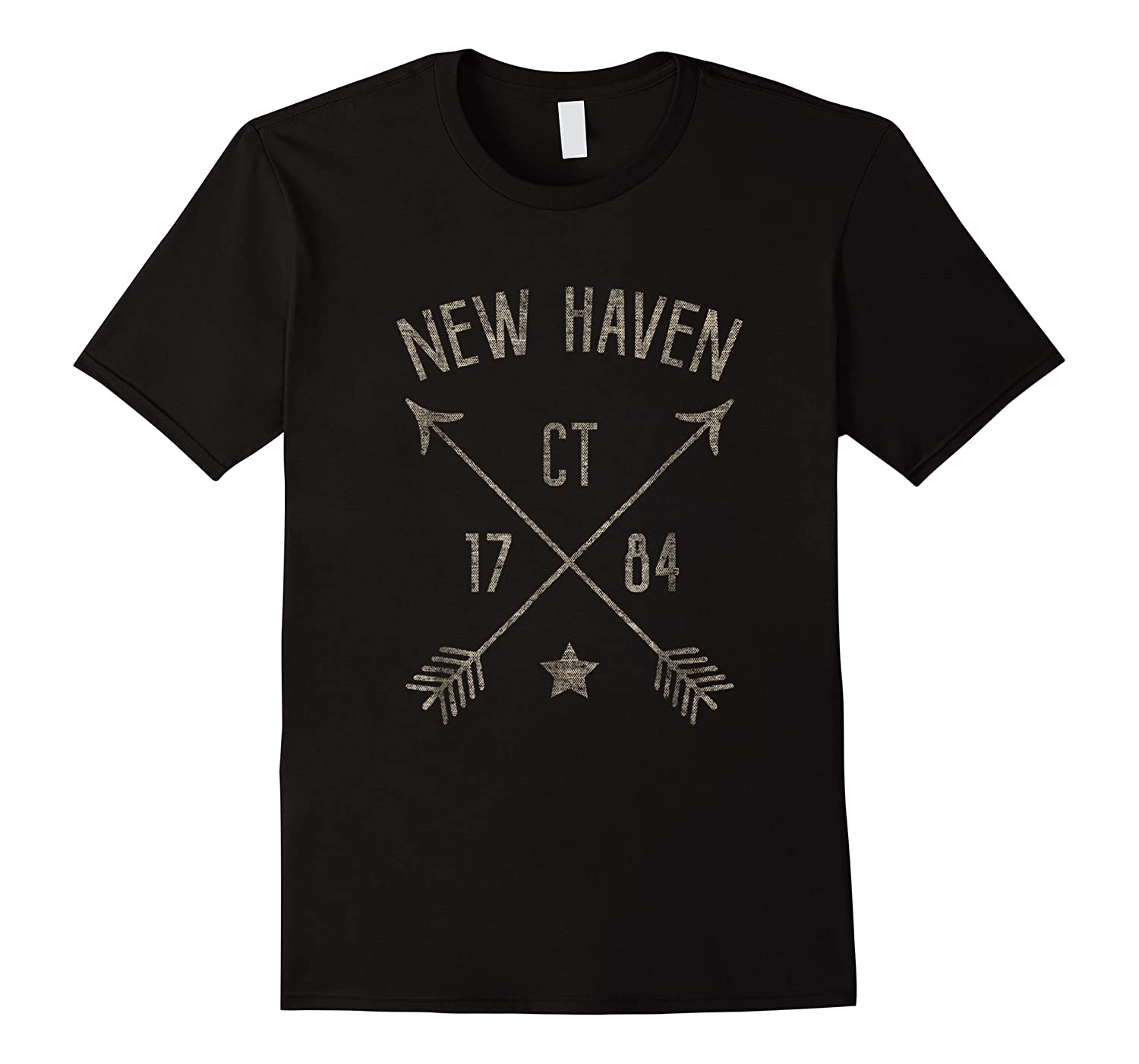 New Haven Ct T Shirt Cool Vintage Retro Style Home City