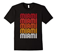 Miami Miami Miami T-shirt Black