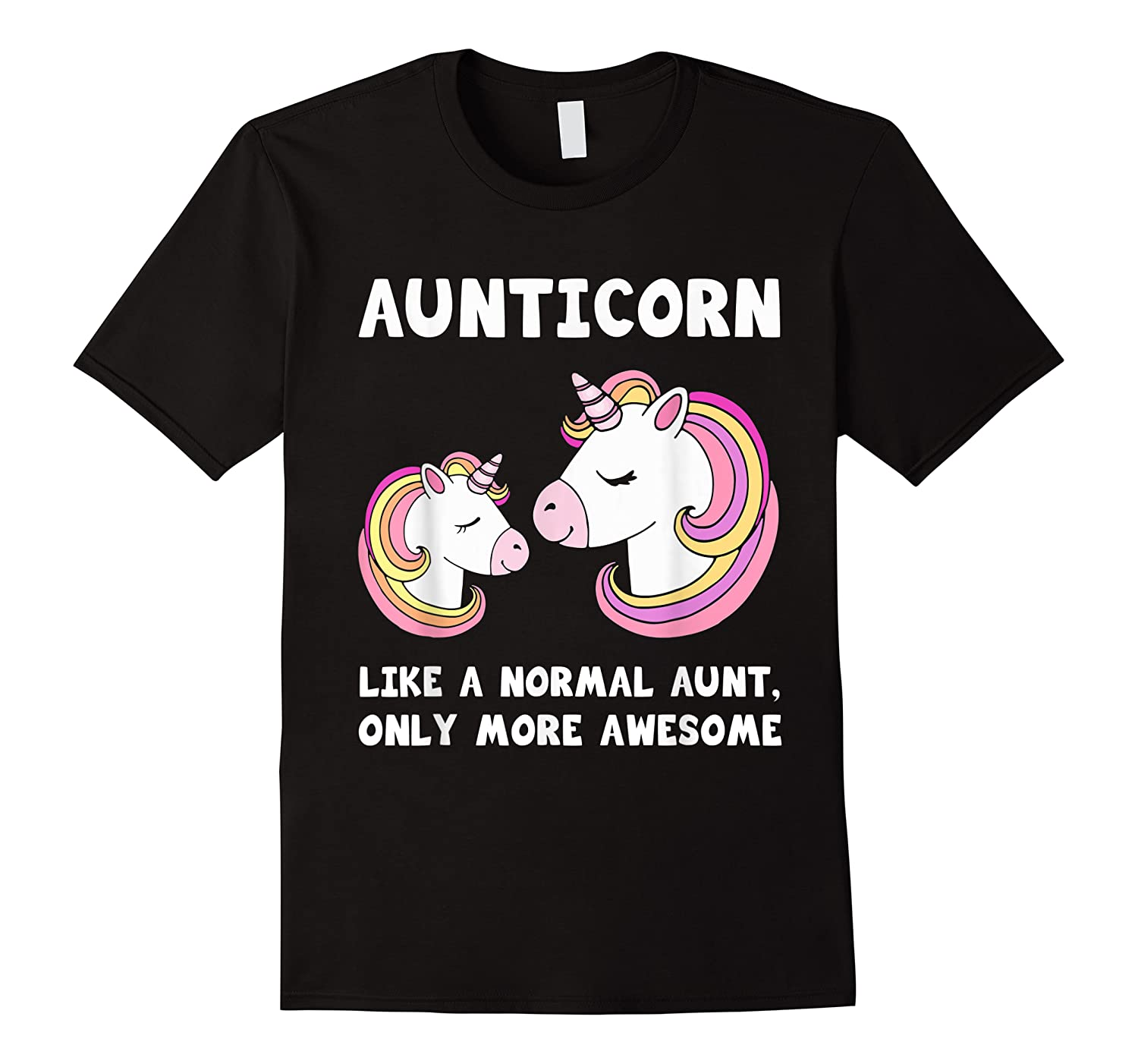Aunticorn Unicorn Aunt And Baby Mothers Day Gift Shirts