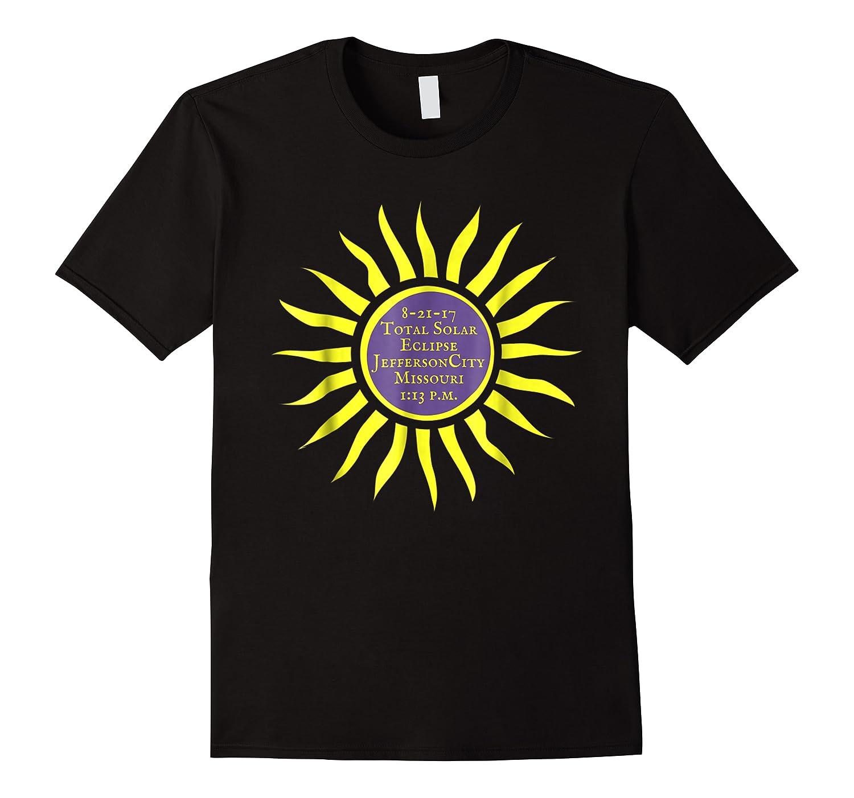 Jefferson City Mo Total Solar Eclipse Shirt Aug 21 Sun Tee