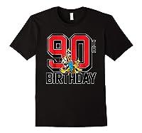 Disney Birthday Group 90th T Shirt Black