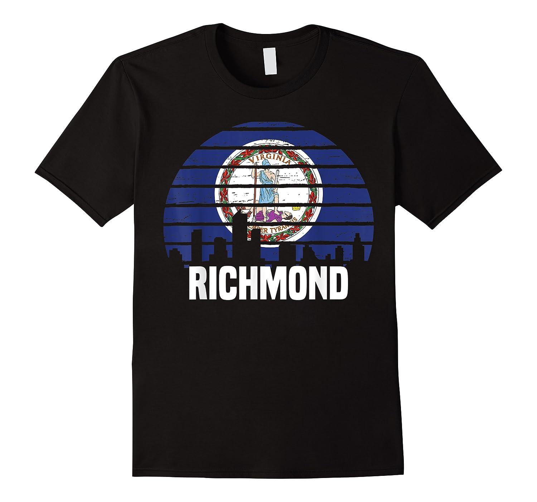Richmond Virginia T Shirt Va Group City Trip Silhouette Flag
