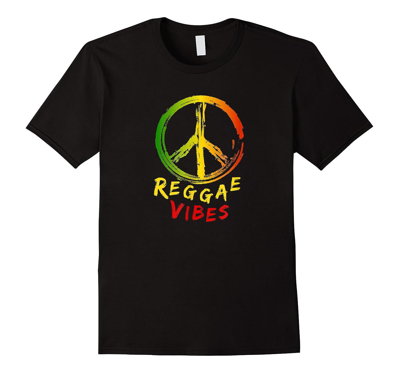 Rasta Reggae Vibes Peace Sign Shirts