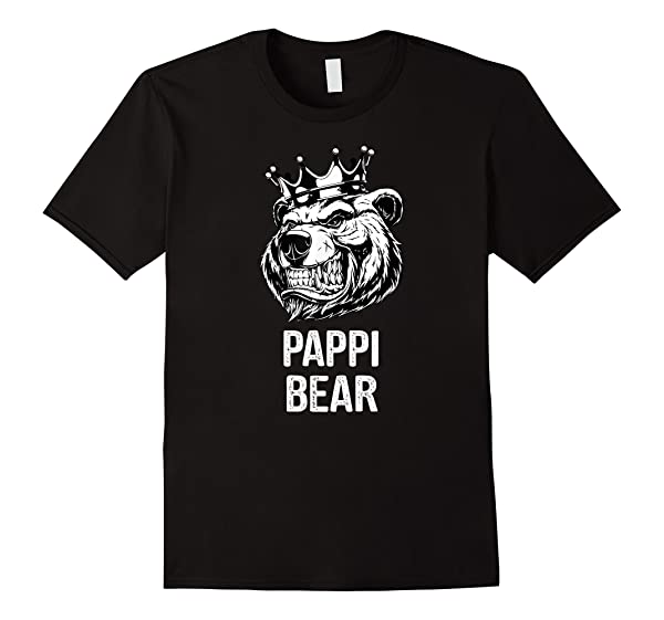 Funny Father S Day Gifts Grandpa Papa Pappi Bear T Shirt