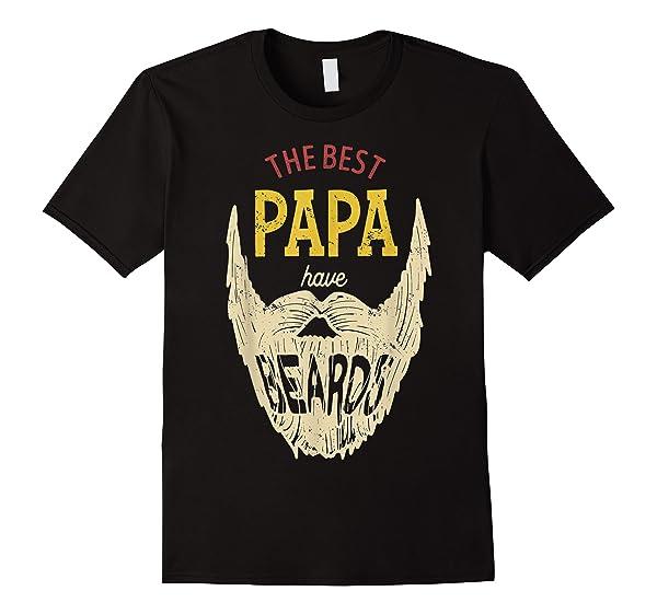 S Best Papa Have Beards Shirt Funny Cute Beard Gift
