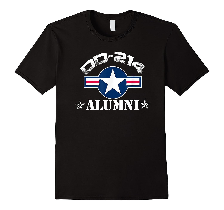 Dd-214 Alumni T-shirt Air Force &