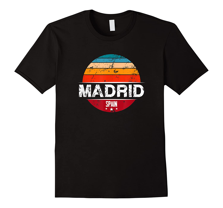 Vintage Madrid T Shirt Spain Souvenir T Shirt