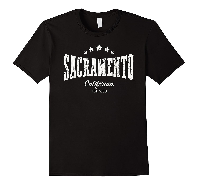 Vintage Sacrato Shirt Ca Home City Pride Distressed