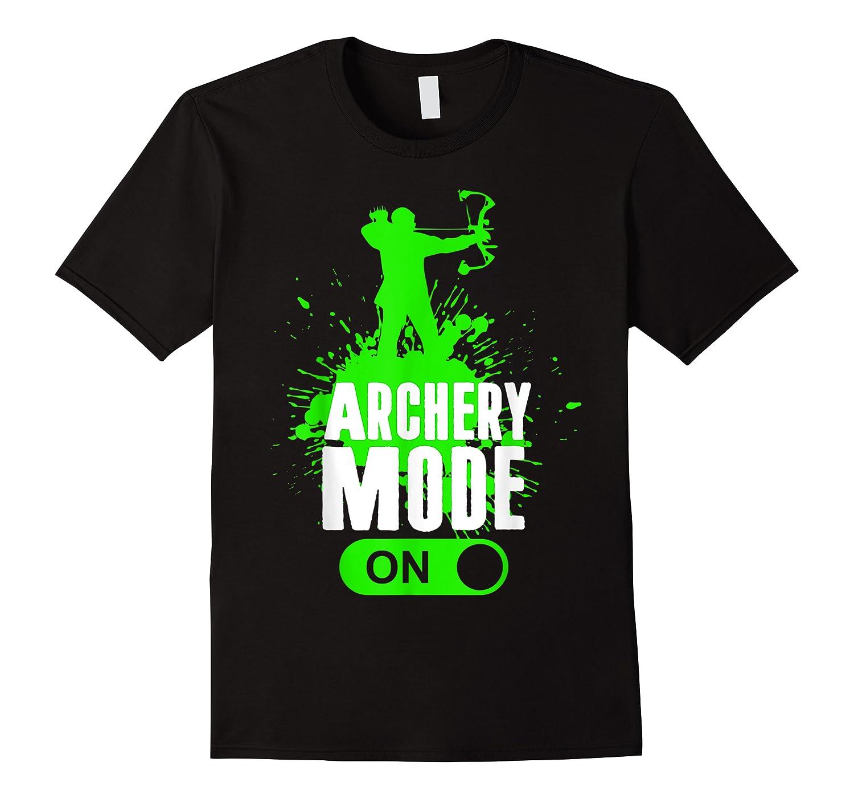 Archery Mode On Cool Hunting Bow Arrow Men Kids Shirts