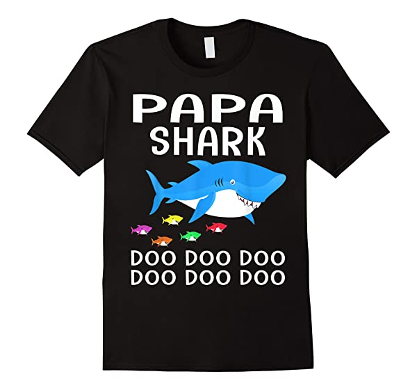 S Papa Shark T Shirt Father S Day Family Gifts Shirts For S
