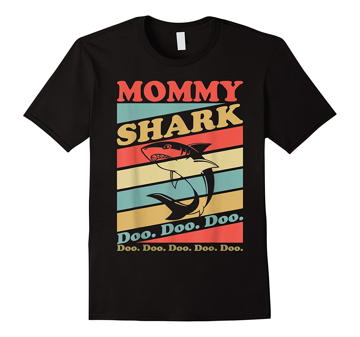 Retro Vintage Mommy Shark Grandma Mather's Day Gifts Shirts