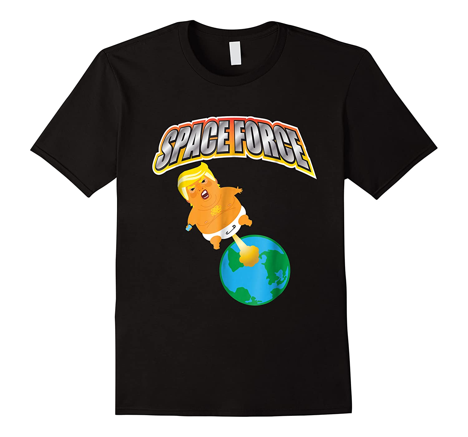 Anti Space Force Funny Donald Trump Gift Shirts