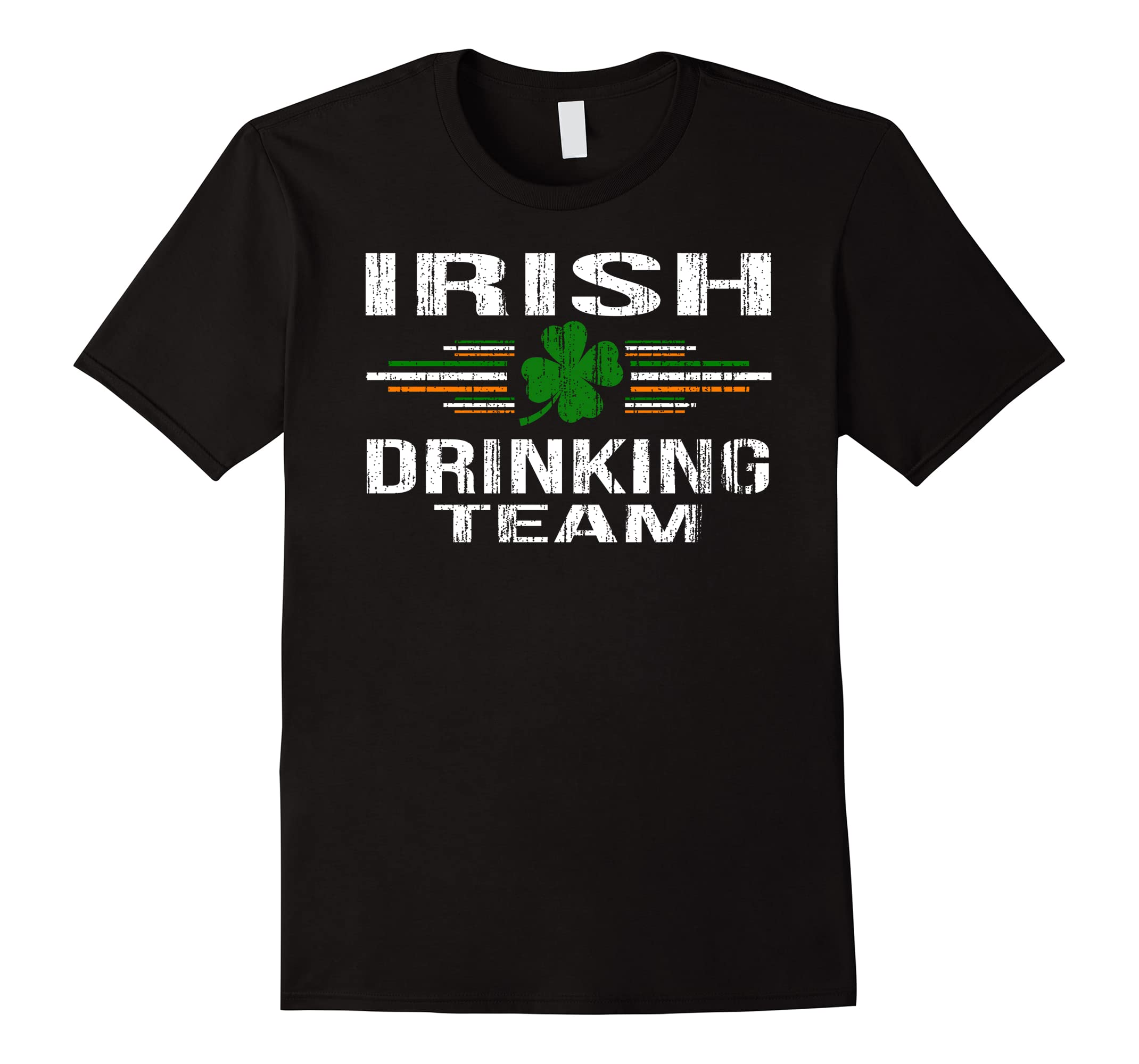 18db450e St Patrick's Day Funny Irish Drinking Team T-Shirt-ah my shirt one gift