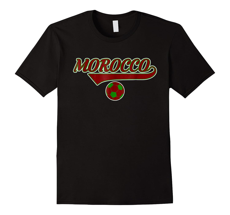 Morocco Team World Fan Soccer 2018 Cup Fan T Shirt